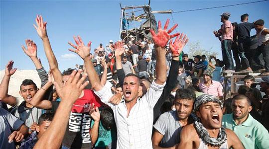 Photo of ഇസ്രായേലിന്റെ വെടിവെപ്പില് നാലു പേര് കൊല്ലപ്പെട്ടു, 120 പേര്ക്ക് പരുക്ക്