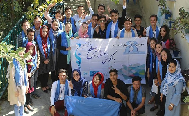 An annual youth peace conference organized by the Afghan Peace Volunteers last year