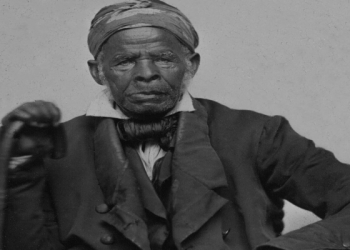 Born in present-day Senegal, Omar Ibn Said was a writer and Islamic scholar who wrote about history and theology while in bondage in the US in the early 19th Century (Creative commons/Yale University)